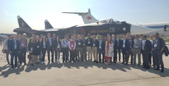 IFAR-X Group Picture 2019 at MAKS airshow in Moscow